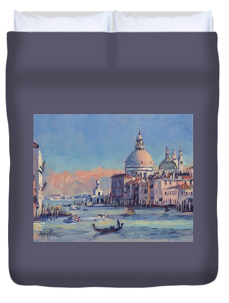Sunset Venice Duvet Cover