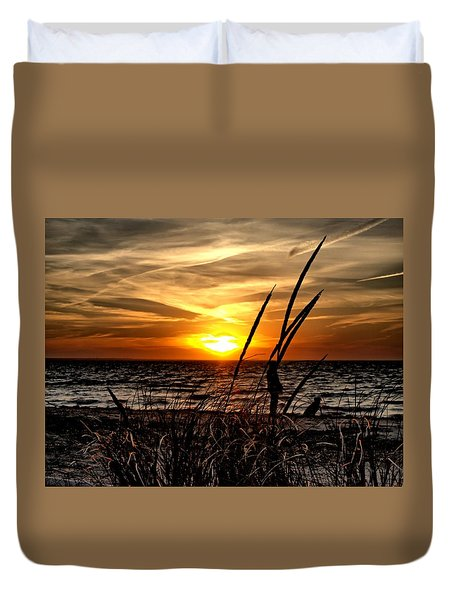 Sunset Walk Duvet Cover