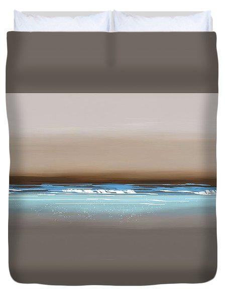 Sunset Waves Duvet Cover