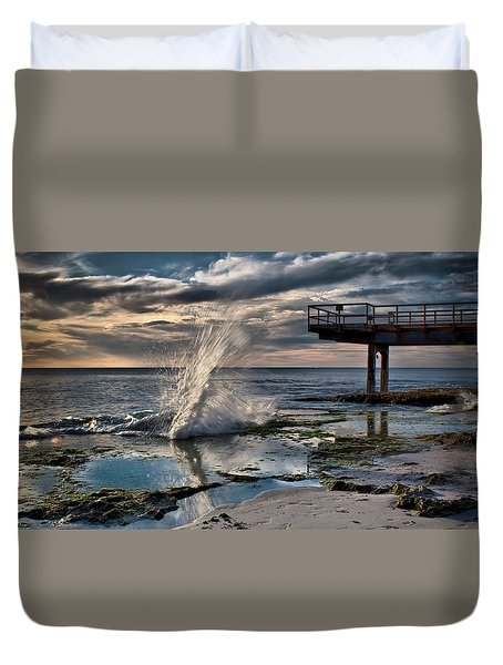 Sunsets Show Duvet Cover