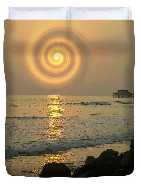 Sunsetswirl Duvet Cover