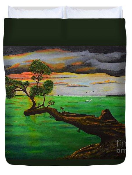 Sunsetting Duvet Cover