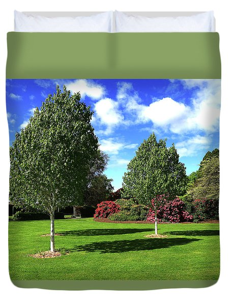 Sunshine And Shadows Duvet Cover