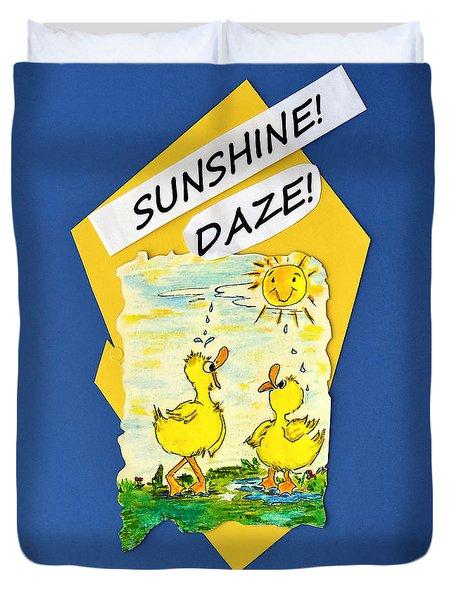Sunshine Daze Duvet Cover