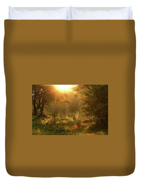 Sunshine In The Meadow Duvet Cover