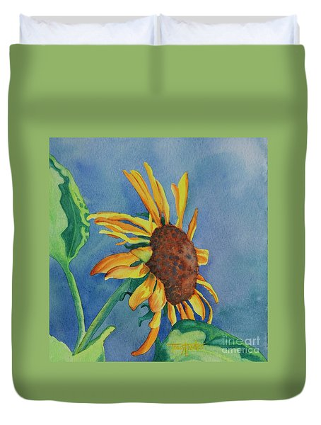 Sunshine On My Shoulders Duvet Cover by Tracy L Teeter