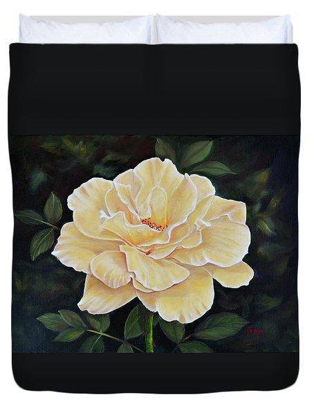 Sunshine Rose Duvet Cover