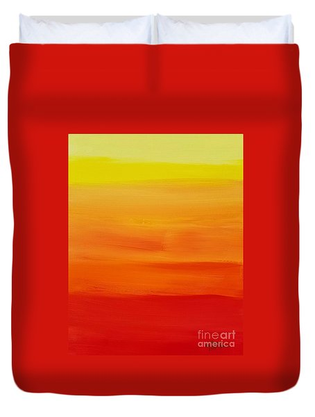 Sunshine Duvet Cover by Sean Brushingham
