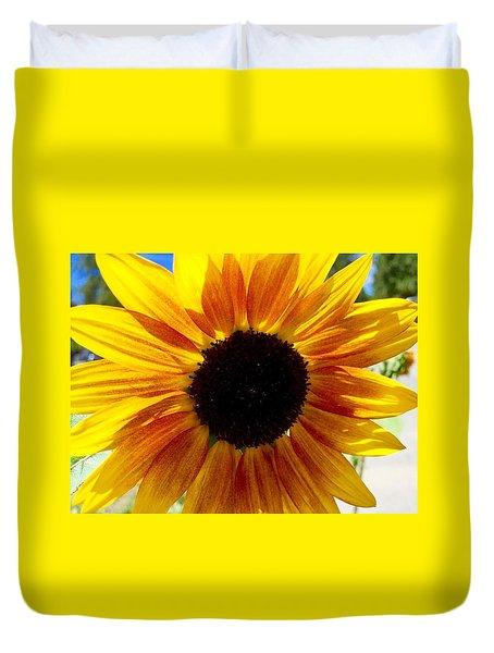 Sunshine Sunflower Duvet Cover