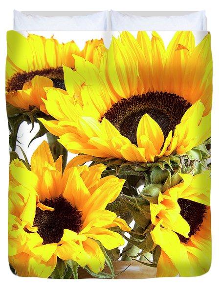 Sunshine Sunflowers Duvet Cover