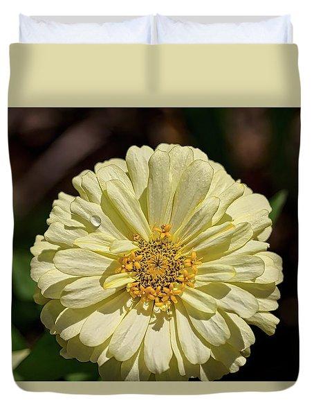 Sunshine Yellow Duvet Cover
