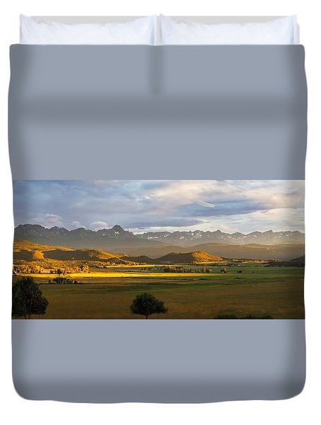 Sunstreak Duvet Cover