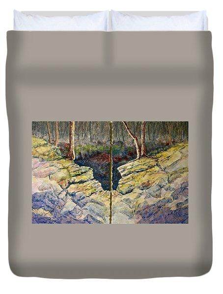Sunstruck Duvet Cover by Carolyn Rosenberger