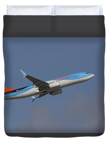 Sunwing Airlines Duvet Cover