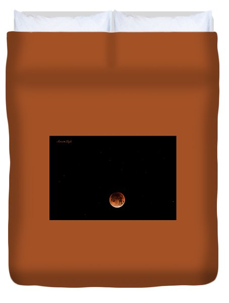 Super Blue Blood Moon January 31, 2018 Duvet Cover