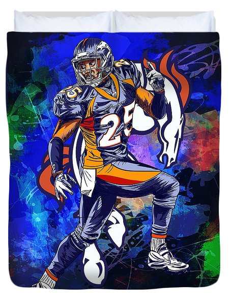 Super Bowl 2016  Duvet Cover