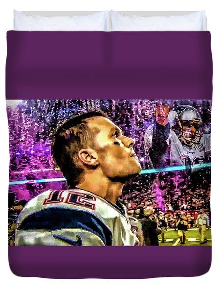 Super Bowl 53 - Tom Brady Duvet Cover