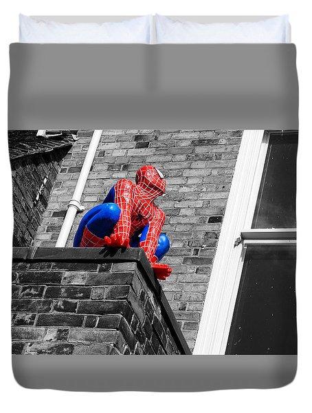 Super Hero Duvet Cover