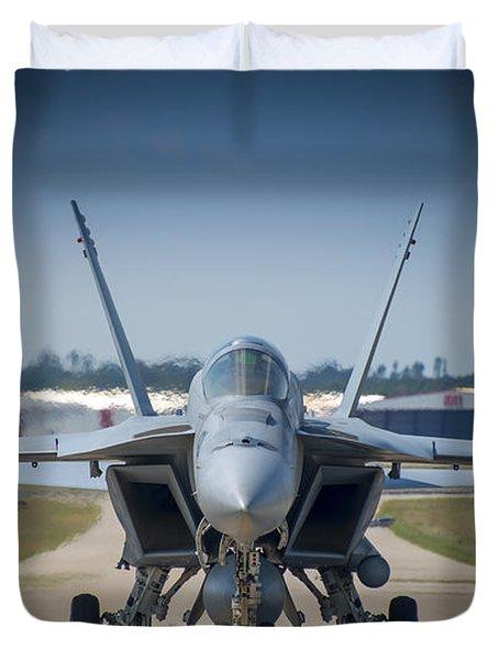 Super Hornet 002 Duvet Cover