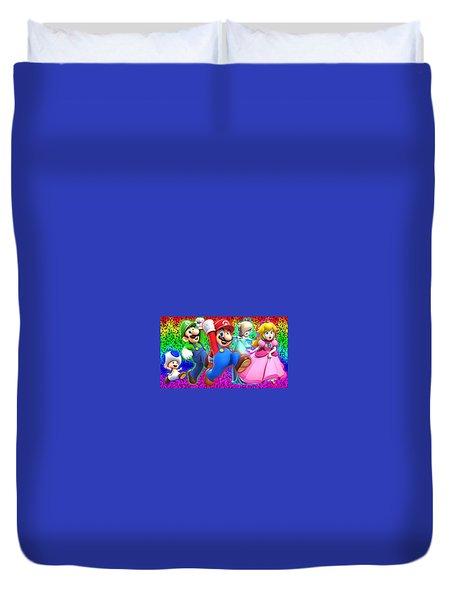 Super Mario 3d World Duvet Cover