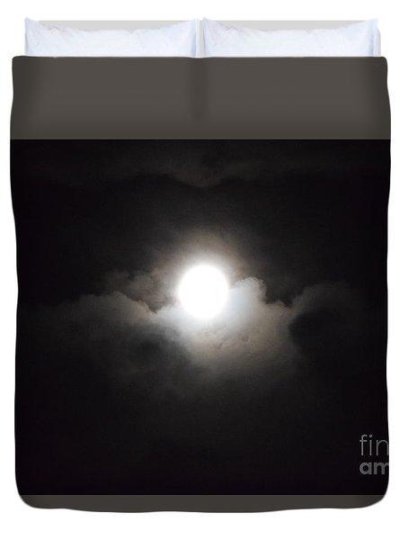 Super Moon 1 Duvet Cover