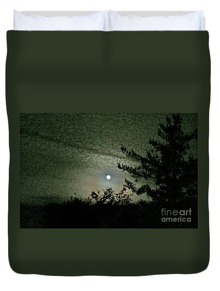 Super Moon Colors Duvet Cover
