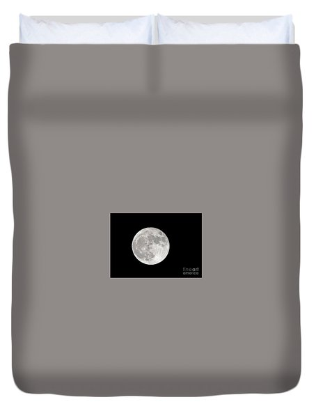 Super Moon Duvet Cover by Kevin McCarthy
