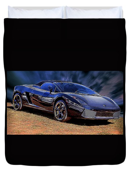 Super Speed Duvet Cover