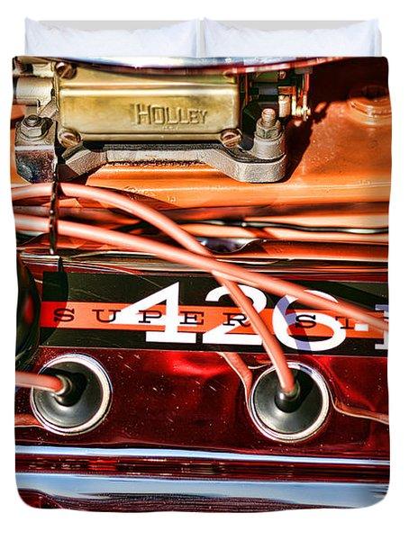 Super Stock Ss 426 IIi Hemi Motor Duvet Cover