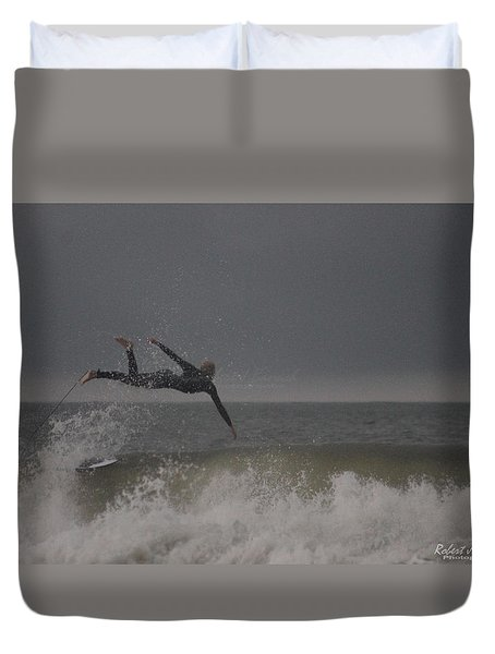 Super Surfing Duvet Cover