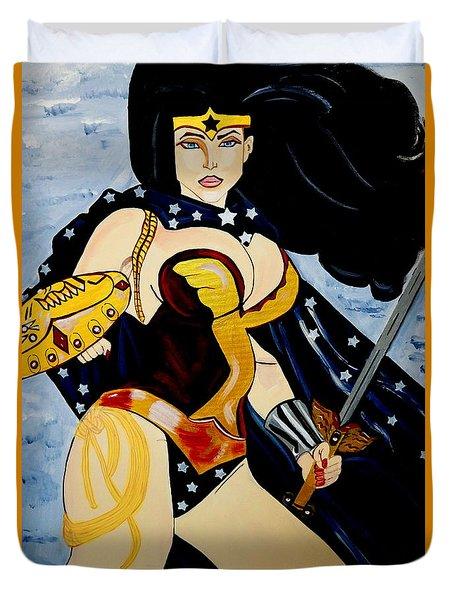 Wonder Women Duvet Cover