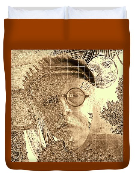 Superego, Ego, And Id Duvet Cover