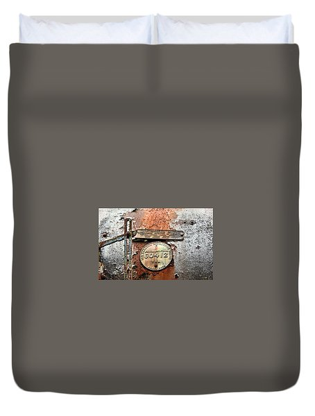 Duvet Cover featuring the photograph Superheater by Kristin Elmquist