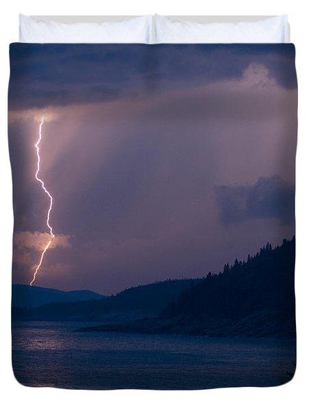 Superior Lightning     Duvet Cover