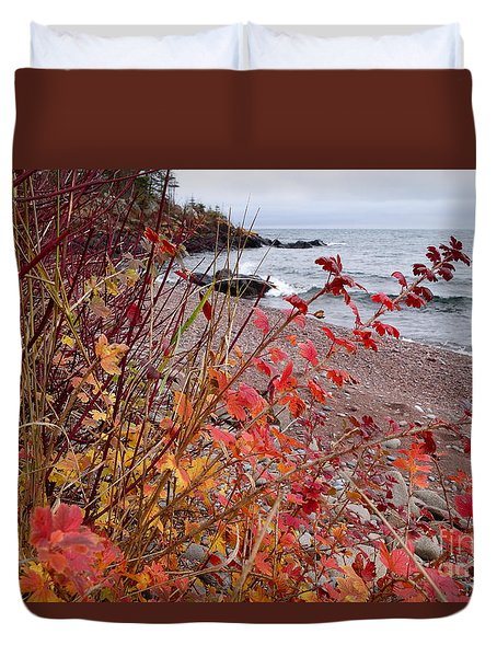 Superior November Color Duvet Cover