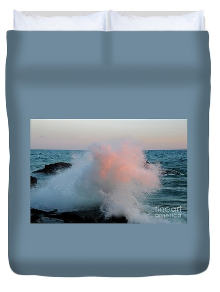 Superior Sundown Splash Duvet Cover