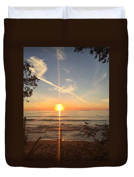 Superior Sunset Duvet Cover