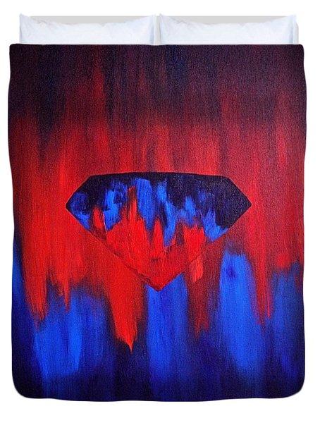 Superman Duvet Cover by Herschel Fall