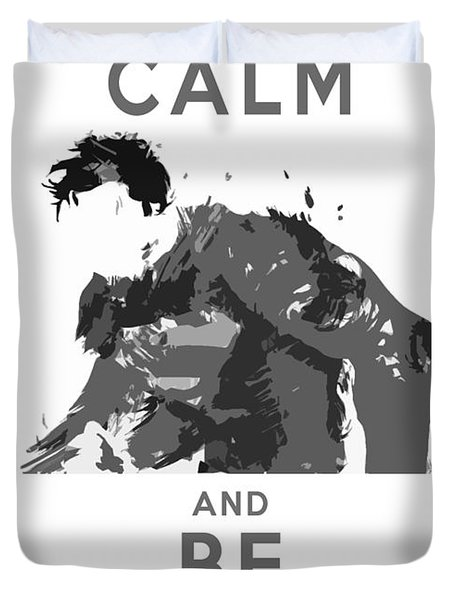 Superman Keep Calm Duvet Cover