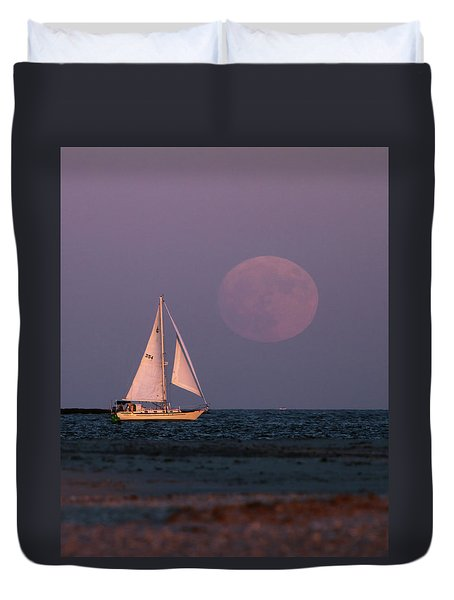 Supermoon Two Duvet Cover