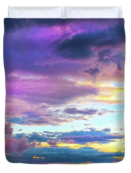 Supernatural Sky - Colorado Duvet Cover
