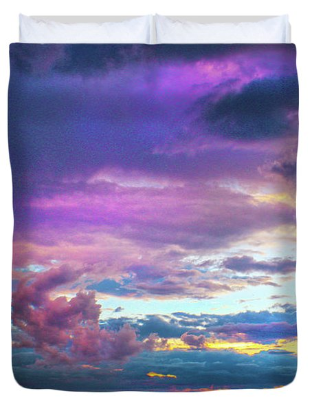Supernatural Sky - Colorado Duvet Cover
