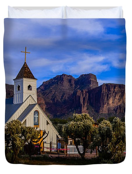 Superstition Church Duvet Cover