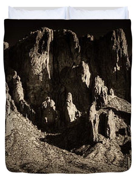 Superstition Mountain  Duvet Cover