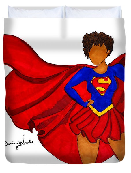 Superwoman I Am  Duvet Cover