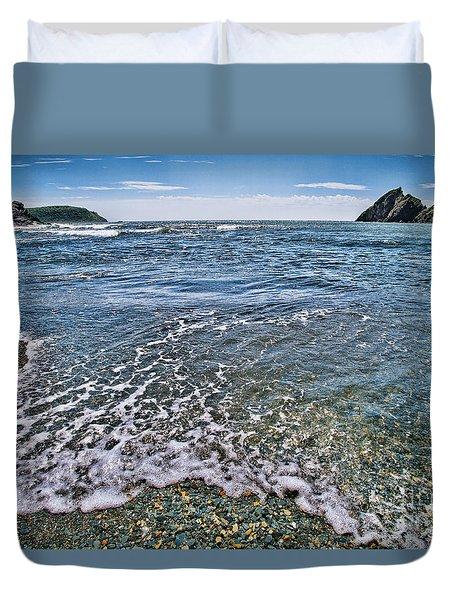 Surf #2959 Duvet Cover by Andrey  Godyaykin
