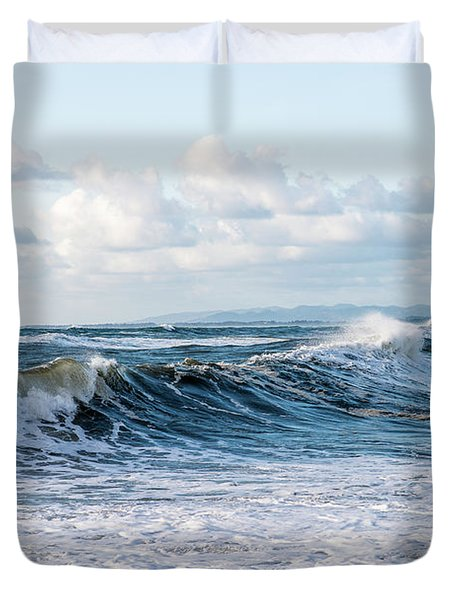 Surf And Sky Duvet Cover