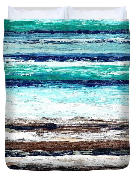 Surf And Turf Duvet Cover