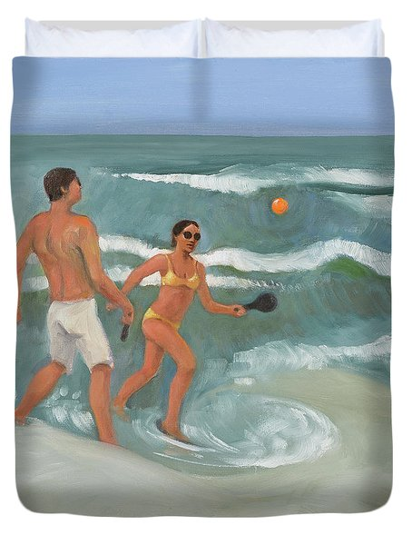Surf Ball Duvet Cover