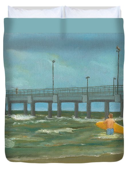 Surf Bound Duvet Cover